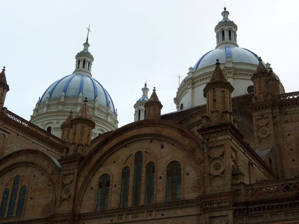 Cuenca's main landmark attraction, the Cathedral of Immaculada Concepcion, 2010