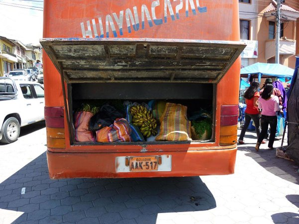 Bus in Canar.