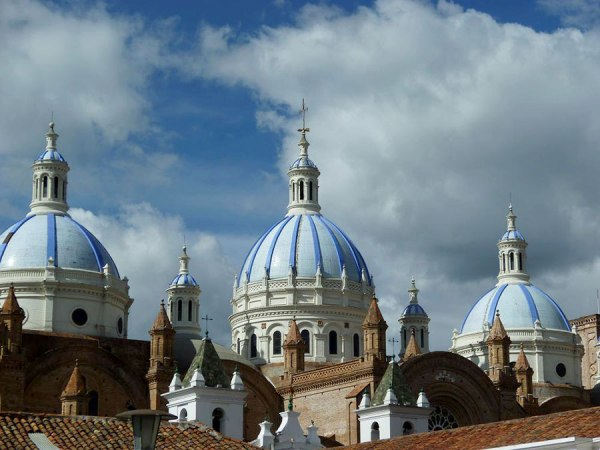 Cuenca's famous landmark, The Catedral Nueva.