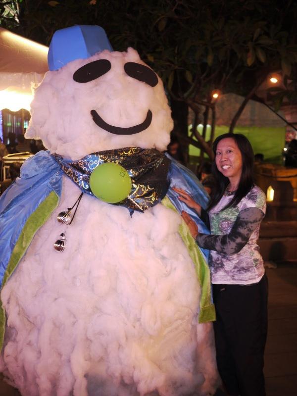 Chiang Mai snowman :P
