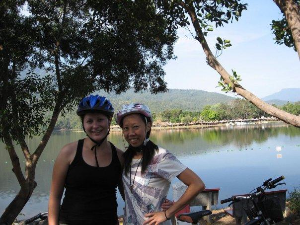 Julia and me @ Huey Tung Tao, 2012