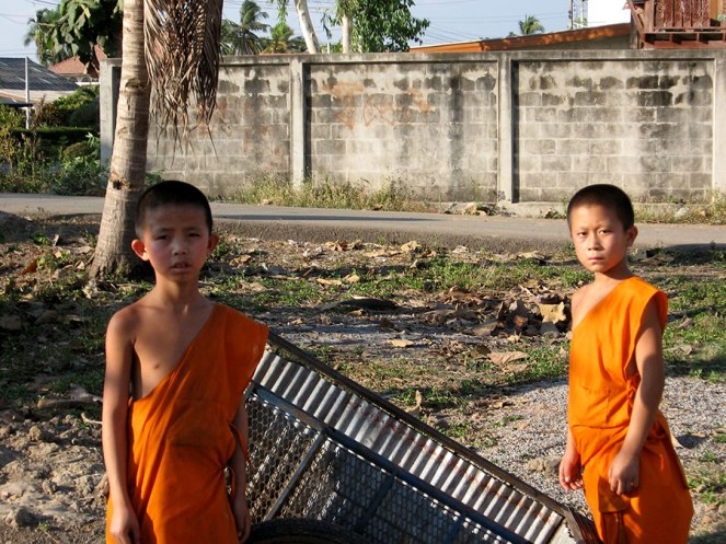 Monks in Lamphun, 2007.