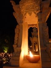 Wat Pan Tao candle