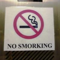 No Smorking!