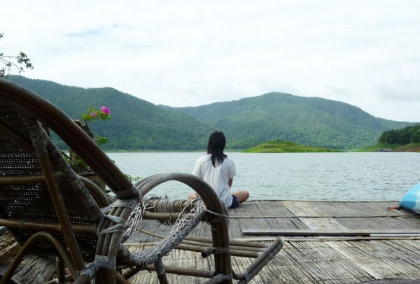 Finding serenity and bliss [Mae Gnat houseboat, Thailand, 2011]