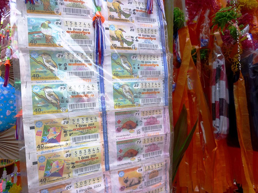 Even lottery tickets! Good luck!