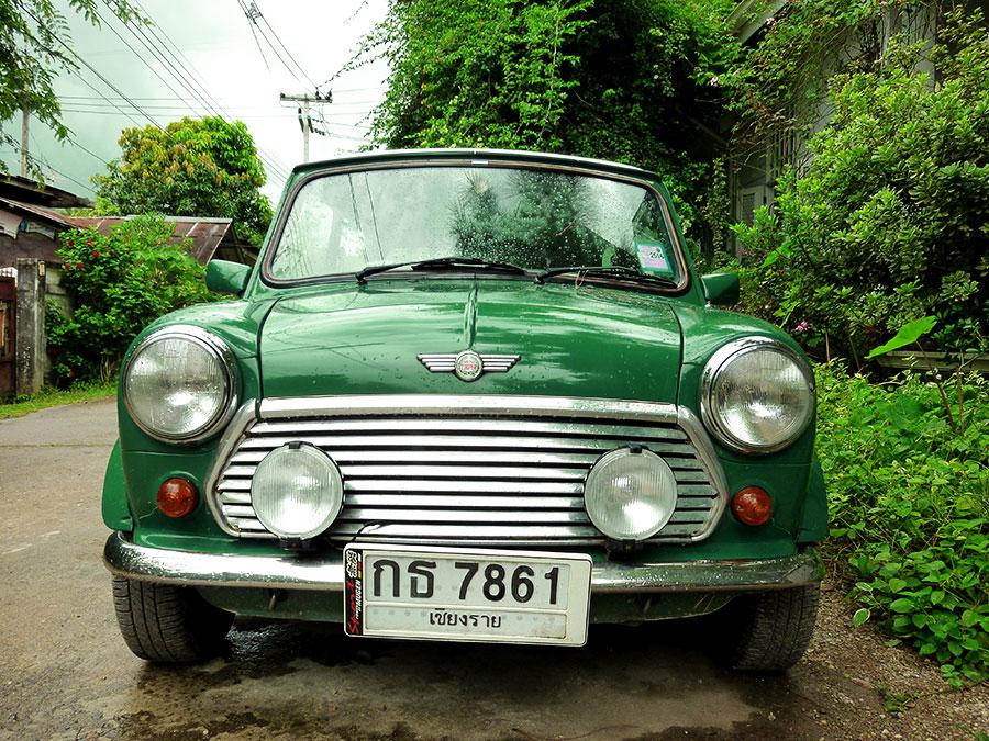 green-car