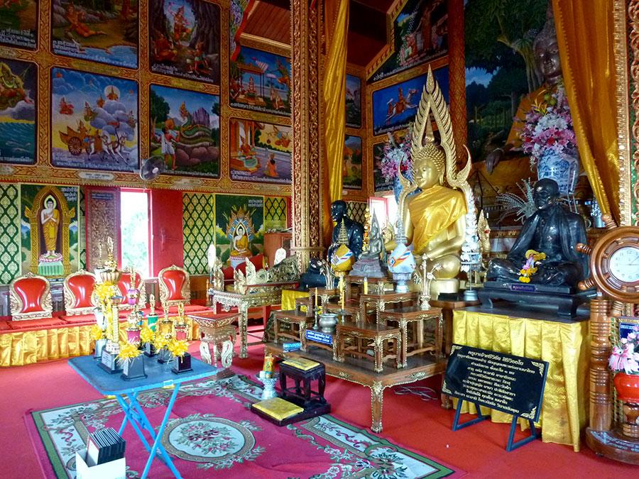 Family temple in Lamphun