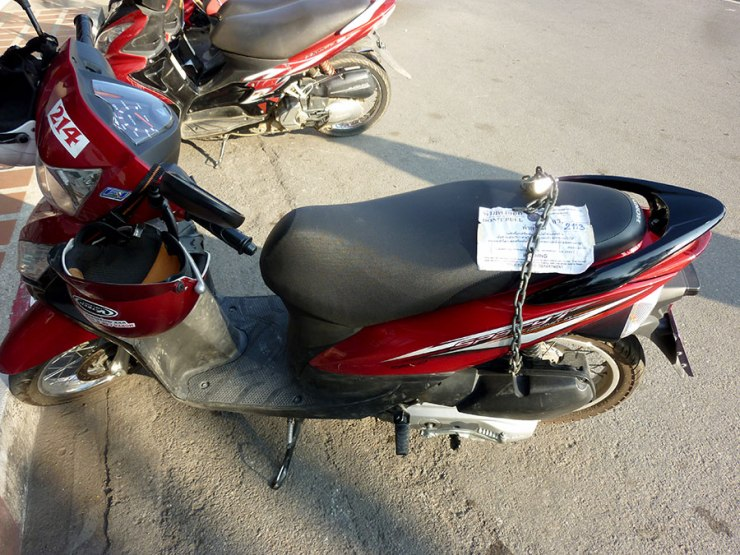 motorbike-lockup