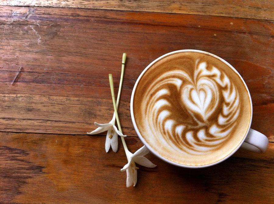 photo and coffee by Tu