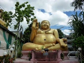 Big buddha at Wat Mung Muang.