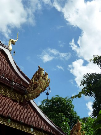 Roof detail at Wat Phra Kaew.
