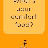 What's your comfort food?