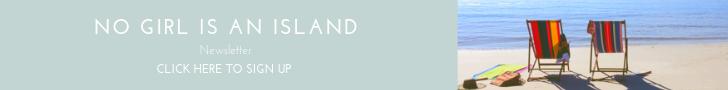 no girl is an island newsletter