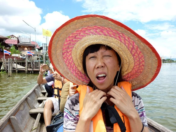 Some hats we wear are more ill-fitting than others. [Prayao, Thailand, 2013]
