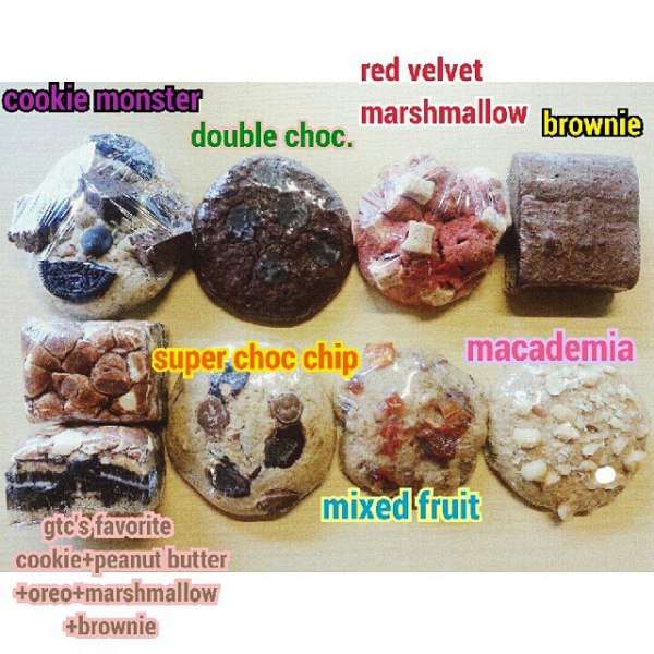 "My favorite is the ""gtc favorite"" brownie goodness."