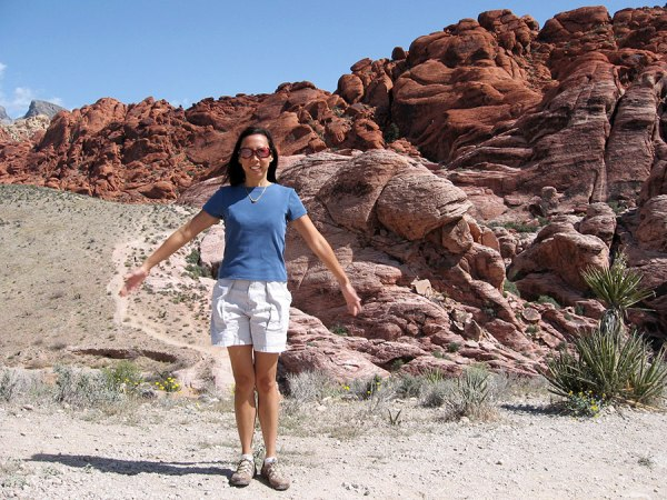 All-American Girl at The Red Rock Canyon National Conservation Area [Las Vegas, 2007]