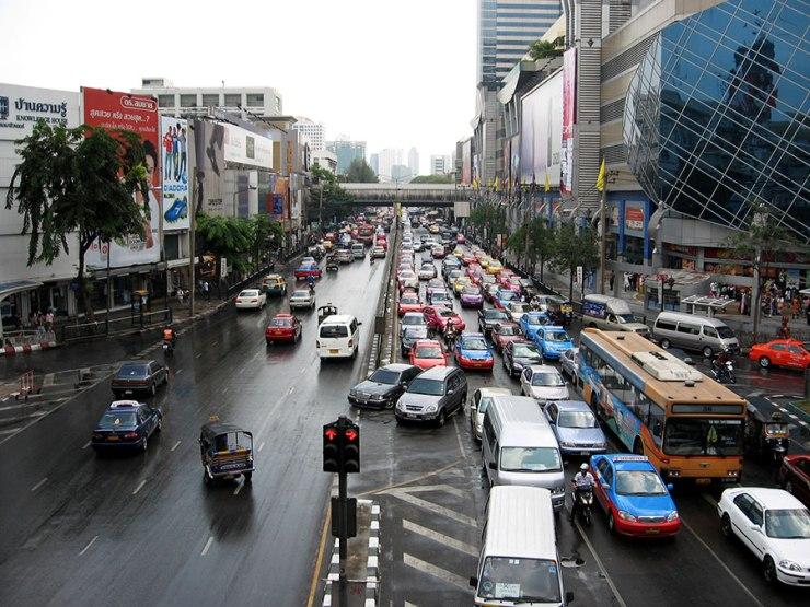 near MBK [Bangkok, 2007]