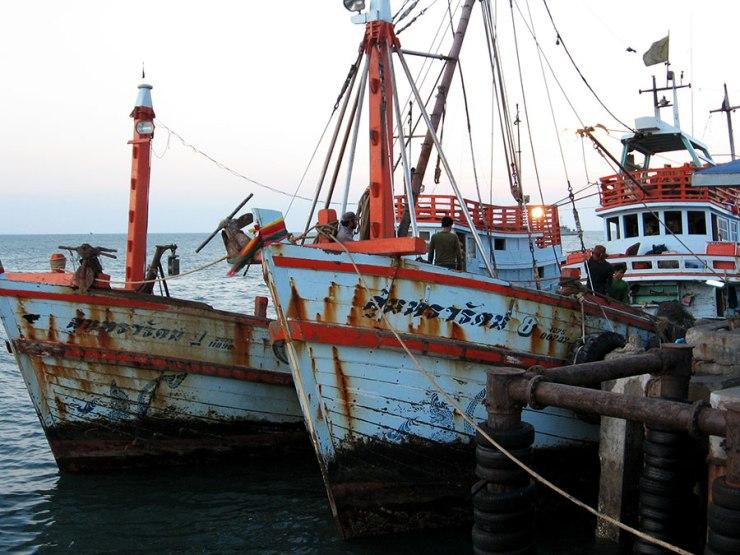 Hua Hin boats
