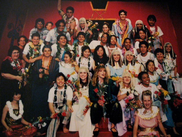 Cast of Joseph and His Amazing Technicolor Dreamcoat [circa 1991, Mililani, Hawaii]