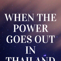 🇹🇭 When the power goes out in Thailand