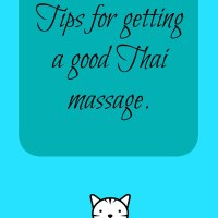 Tips for getting a good Thai massage