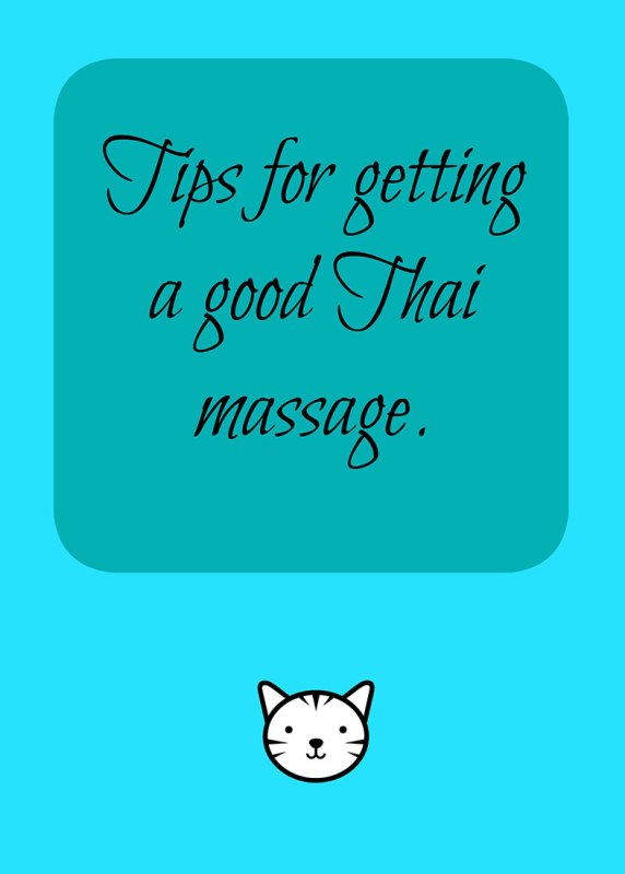 tips-for-getting-a-good-thai-massage