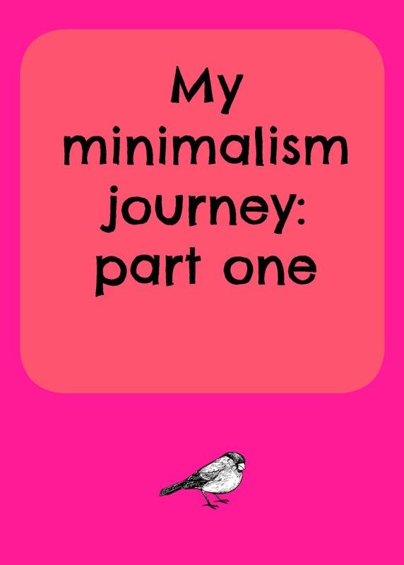 my-minimalism-journey