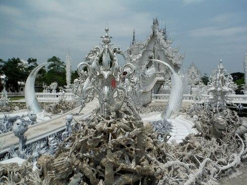 Whtie temple Chiang Rai