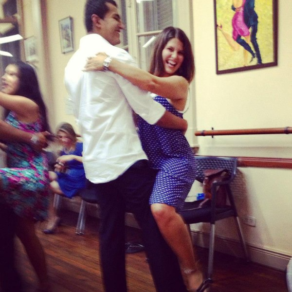 Tango dancing in Buenos Aires, 2013