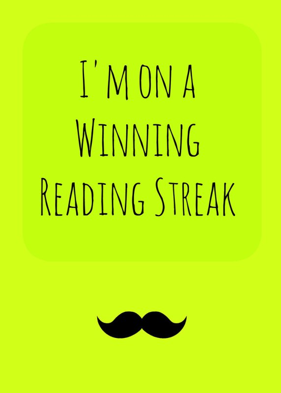I'm-on-a-winning-reading-streak