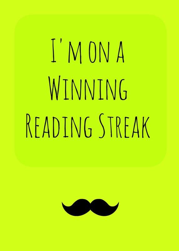 I'm-on-a-winning-reading-streak