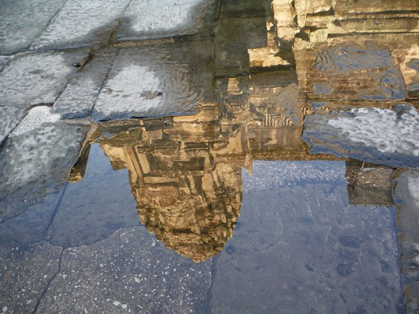 Inside Angkor Wat, photo by EW.