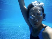 not as easy as you'd think, taking pictures underwater