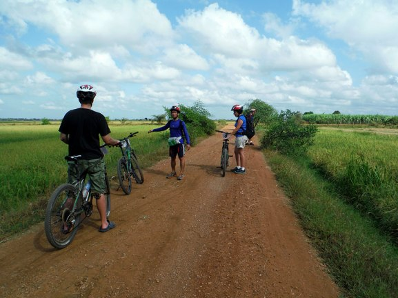 Battambang Bike tour, 2015