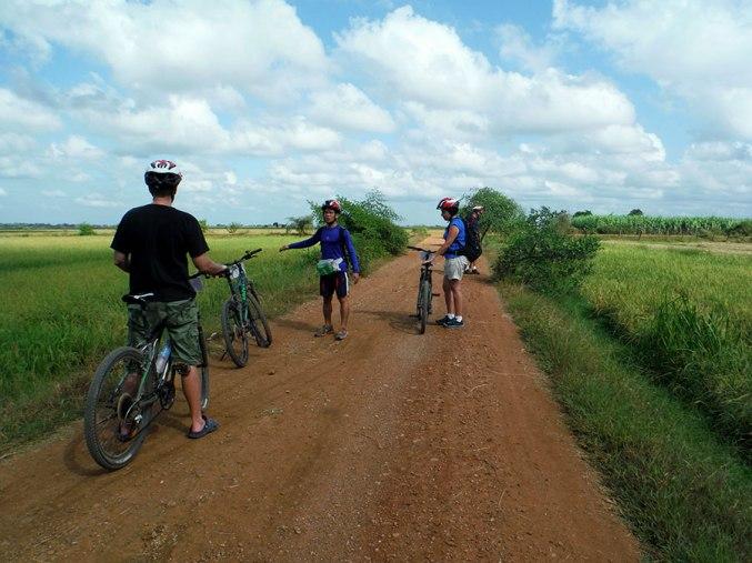 Battambang Bike tour, 2015