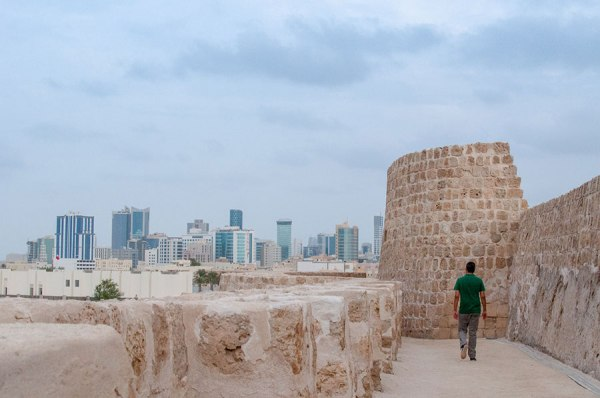 """Bahrain Fort - one of my favourite places to wander around. A UNESCO World Heritage site, and one of the many forts dotted around Bahrain."""