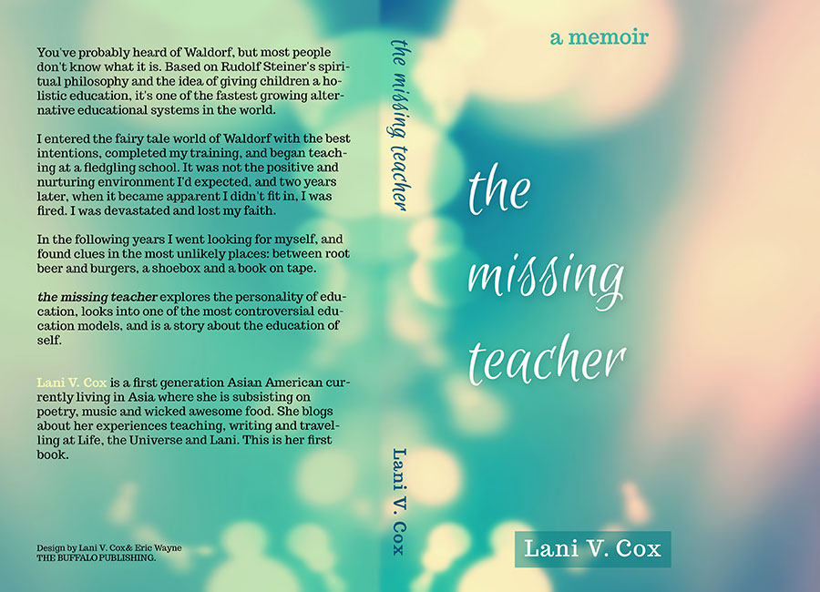 new and updated bookcover for the missing teacher