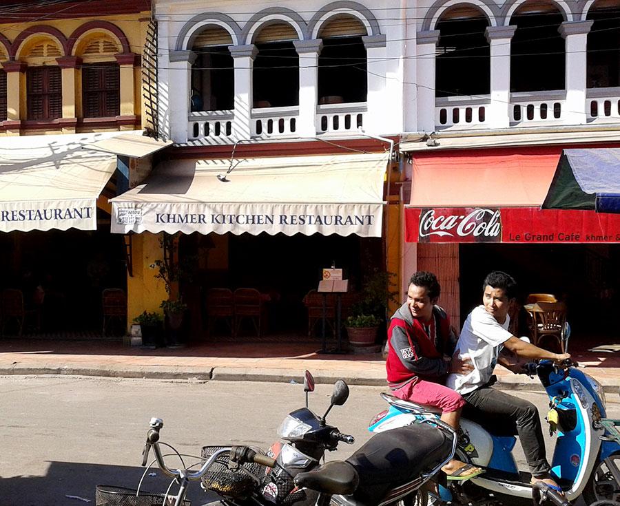 Siem Reap boys-on-a-bike