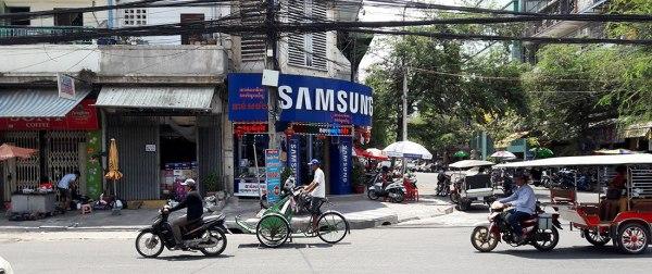 Phnom Penh a-moto-a-cyclo-and-a-tuk-tuk