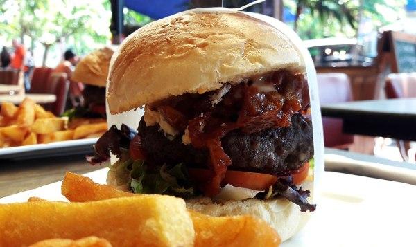 Big burger.