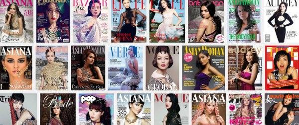 Asian beauty magazines