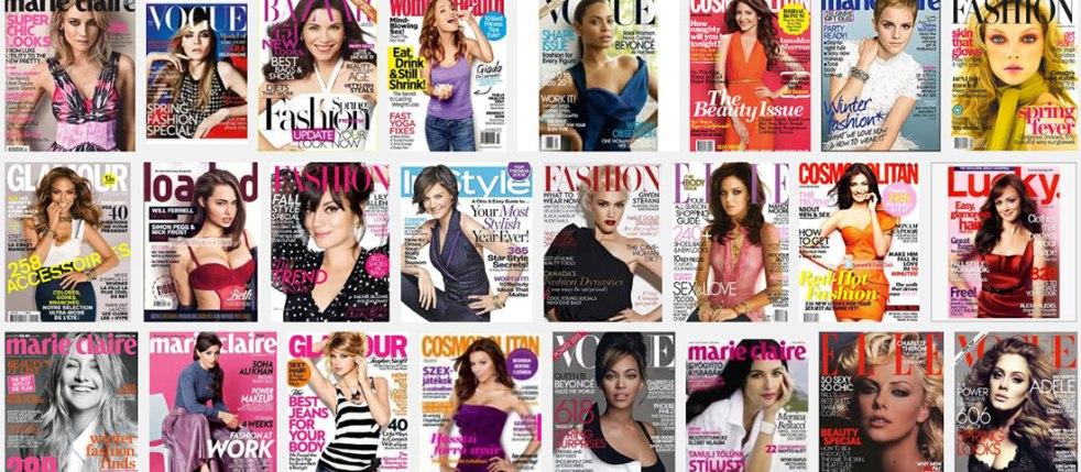 google-shot-of womens magazines