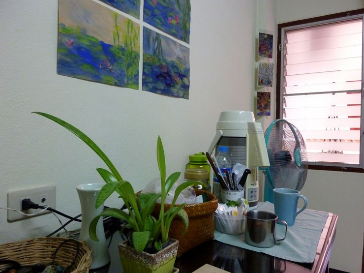 Chiang Mai studio kitchen space