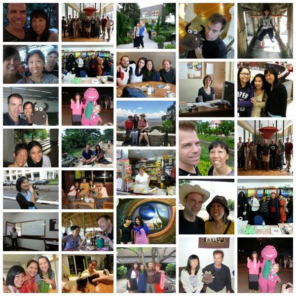 An Asian American abroad photos
