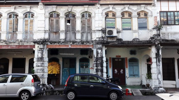 historic Georgetown Penang