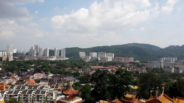 kek lok si view of penang