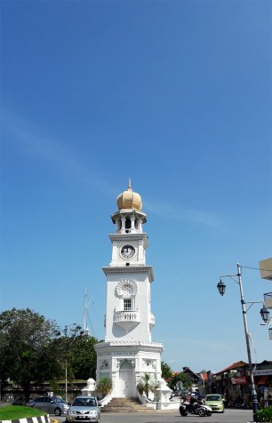 queen victoria clocktower penang