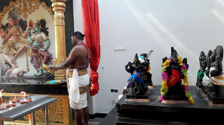 sri maha mariamman temple keeper