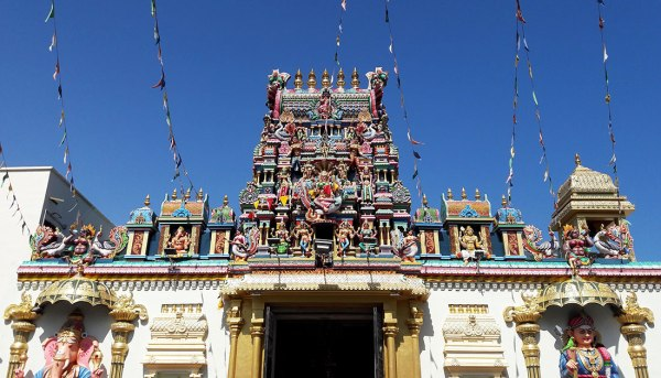 Sri Maha Mariamman Temple in Little India, Penang.
